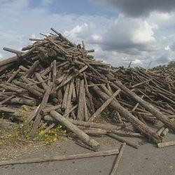 Hartaanselältä nostetut uiton aikainen puutavara v.2019  ( Haketettu )