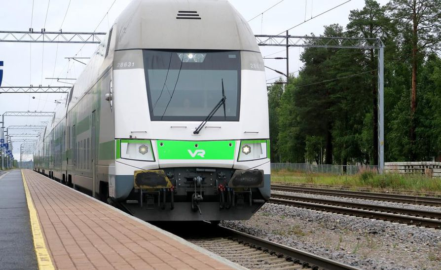 Aristokuva. Kuvan juna ei liity uutiseen.