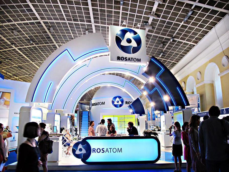 Venäläinen Rosatom on Fennovoiman ydinvoimalan laitostoimittaja.
