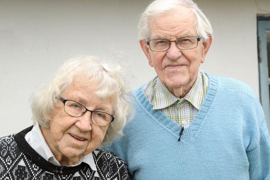 Gunnin ja Prebenin rakkaudessa on kaikki, koko elämä. He ovat olleet naimisissa 67 vuotta.