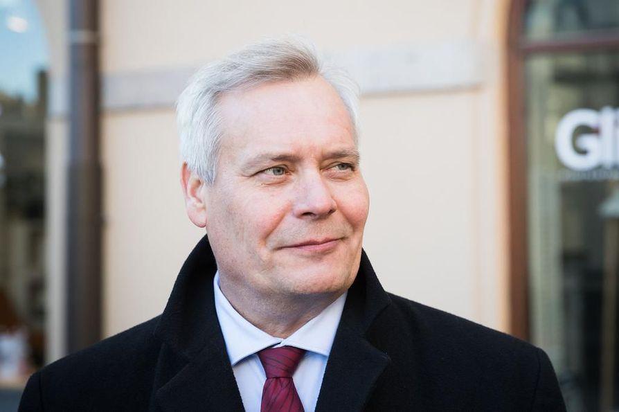 Antti Rinne (sdp.) syytti kokoomusta kovista arvoista. Arkistokuva.