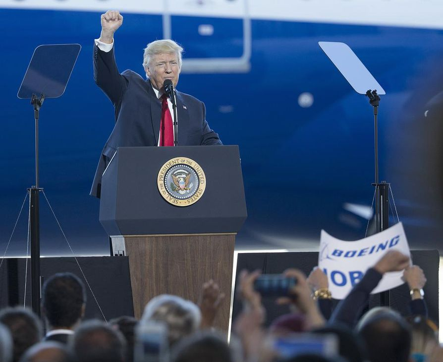 Donald Trump viittasi puheessaan Ruotsiin, mutta ruotsalaisten mukaan maassa ei ole tapahtunut mitään erityistä turvallisuutta heikentävää.