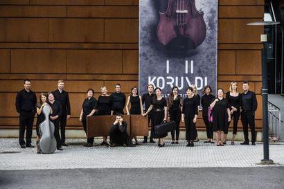 Lapin kamariorkesteri konsertoi Kuusamotalossa 30.10. – luvassa ainakin kahdeksan miniatyyrisävellystä, sellokonsertto ja elokuvasäveltäjä Ennio Morriconen musiikkia