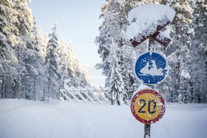 Moottorikelkkaurien kunnostaminen vähentää luvatonta maastoliikennettä – Valtion lisätalousarvioista 900 000 euroa maastoliikenneväylästön kunnostamiseen
