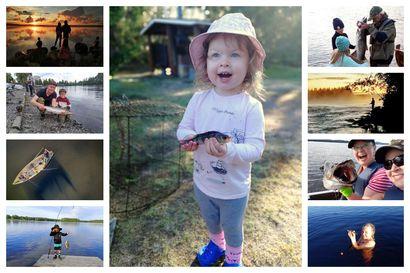 Lapset ottivat päähuomion kalakuvakisassa – finalistit ovat nyt selvillä, katso kuvat ja äänestä suosikkiasi