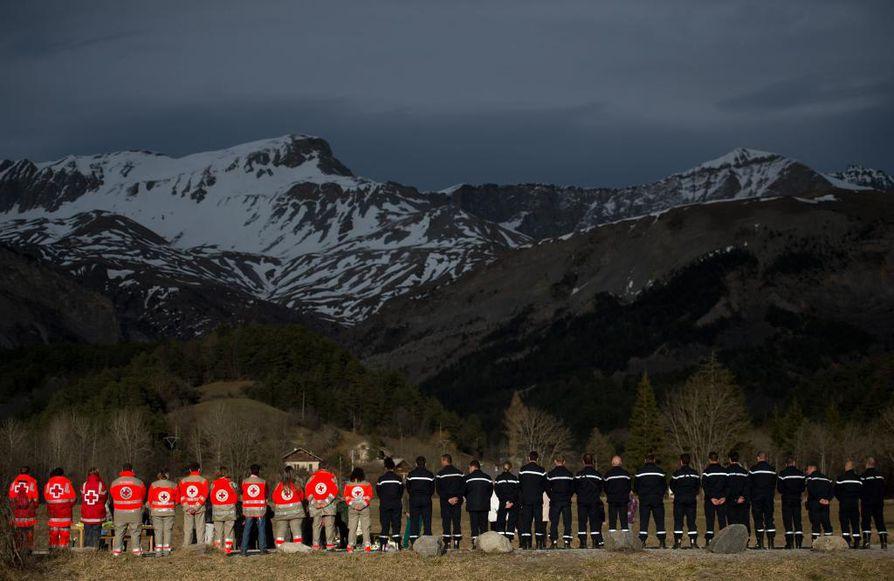 Germanwingsin matkustajakone törmäsi vuoren seinään Ranskassa viime viikon tiistaina.
