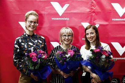 Hanna Sarkkinen ja Aino-Kaisa Pekonen jakavat sosiaali- ja terveysministerin salkun, Li Anderssonista opetusministeri
