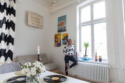 Ei kodin tarvitse olla aina tip top, että voisi rentoutua – Vilma Valkonen haluaa asua kodissa, joka kertoo asukkaastaan