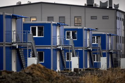 Työmaan valtavuus alkaa valjeta - Hanhikiven niemellä jo kymmenen hehtaarin verran tilapäisiä rakennuksia