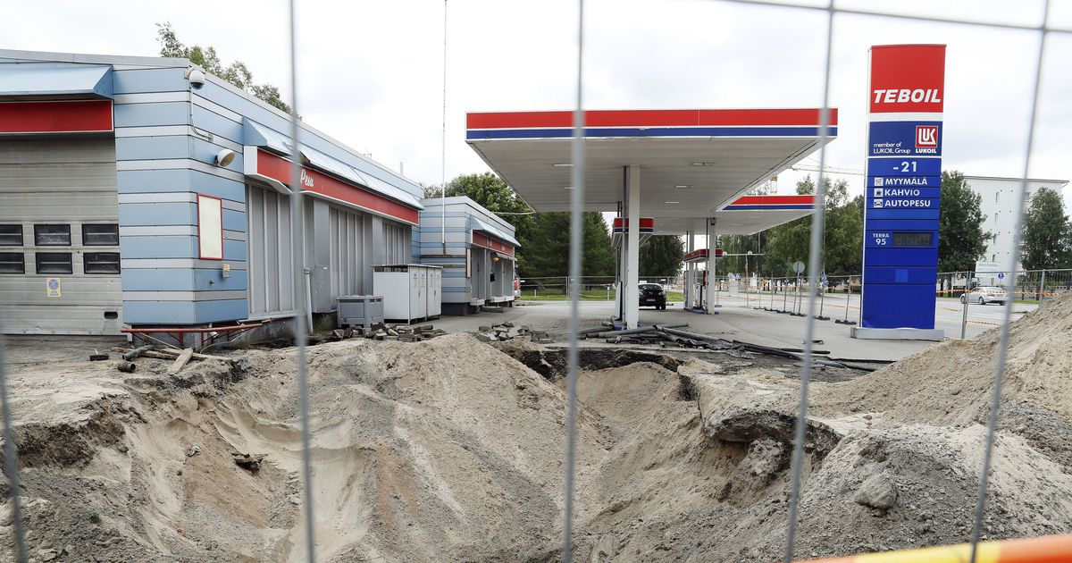 Huoltoasemat Oulu
