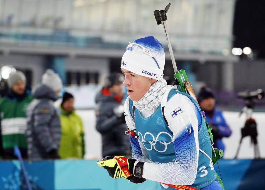 Tero Seppälä on pystynyt sijoihin 20 ja 25 Pyeongchangin olympialaisten ensimmäisillä henkilökohtaisilla matkoilla.