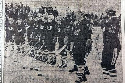 Olitko paikalla kun Spede, Simo ja Loiri pelasivat Raahen Rantakentällä?–Katso myös video