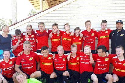 FC Raahen junioreille pronssia Kokkola Cupista