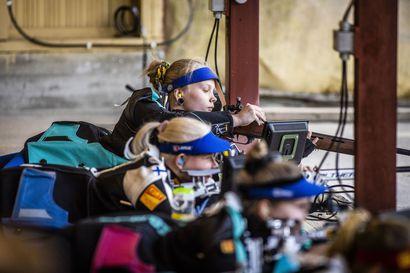 Johanna Uusitalon mitaliyllätys jäi 0,2 pisteen päähän – Rovaniemeläinen tähtäsi neljänneksi SM-kotikisoissaan