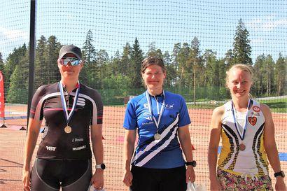 Niina Jaako ajoi SM-kultaa ja -pronssia pyöräsuunnistuksessa