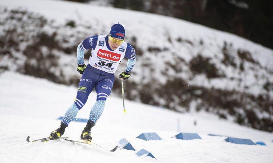 Lauri Vuorinen oli 13. Oberstdorfin maailmancupin sprinttikisoissa sunnuntaina.