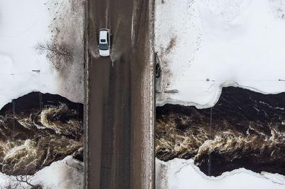 Ely-keskus: Pohjois-Pohjanmaalla syytä varautua tavanomaista suurempiin tulviin