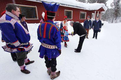 Arvovierailu: Presidentti Sauli Niinistö otti selvää saamelaisista