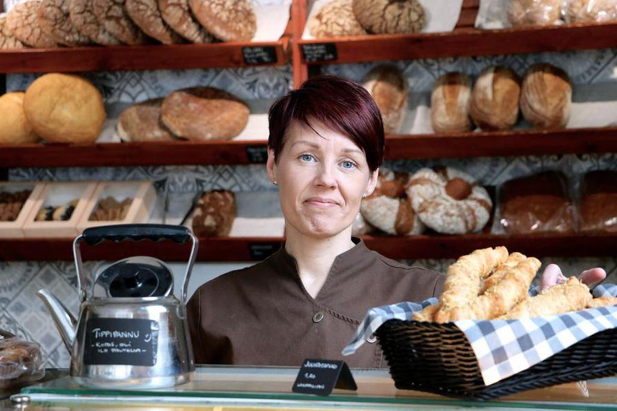 Jaana Räisänen on kauppias jo kolmannessa sukupolvessa.