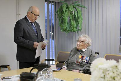Sotaveteraanit: Suomen vanhin lotta Saara Kanerva on kuollut 107-vuotiaana Tornion terveyskeskuksessa