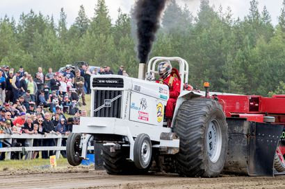 Traktoriurheilijat mittelevät parin vuoden tauon jälkeen lauantaina Tyrnävän Ojakylässä – kovatasoisella lähtölistalla vain yksi paikallinen nimi