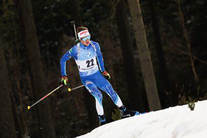 Tero Seppälä 33. ja Mari Eder 37. Nove Meston maailmancupissa