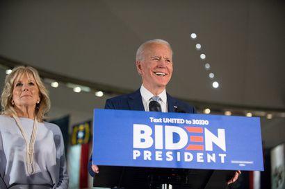 """Demokraattien presidenttikisassa ratkaisun makua Joe Bidenin hyväksi – """"Yhdessä voimme lyödä Donald Trumpin"""""""