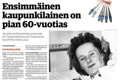 Uusi Rovaniemi palkittiin kahdesta jutusta Uutismedian liiton kilpailussa