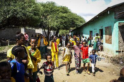 Koulua köyhyyden keskellä