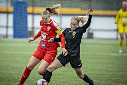 Haukiputaalla pelattiin toistaiseksi viimeinen Naisten Ykkösen Oulun Derby, HauPa emännöi otteluruuhkassa tarpovaa Onssia – katso ottelu tallenteena