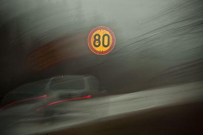 """Kantatien talvinopeus Posiolla 80:sta 100:ksi? – """"Nopeusrajoituksen nostamiset ovat harvinaisia aloitteita"""""""