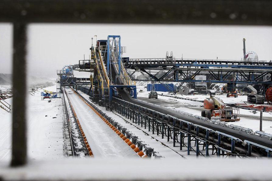 Talvivaaran tehdasalueelta löydettiin eloton henkilö puoli kymmeneltä torstaiaamuna.