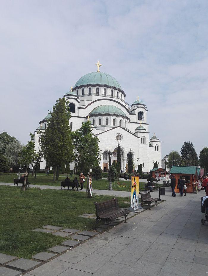 Pyhän Savan katedraali Belgradissa.