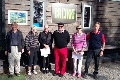 Eläkeläiset kansoittivat golfkentän – Petäjäkankaan vilkkain päivä