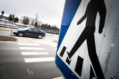 Rovaniemi jäi listan häntäpäähän – TM testasi suojateiden turvallisuutta eri kaupungeissa