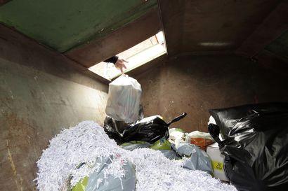 Jätteenkuljetus kallistuu Pudasjärvellä– jätehuollon asiakasmäärä lisääntynyt selvästi
