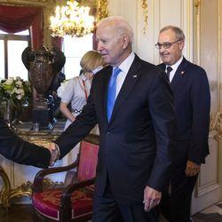 Yhdysvaltain presidentti Biden: Tapaamisen henki Putinin kanssa oli myönteinen