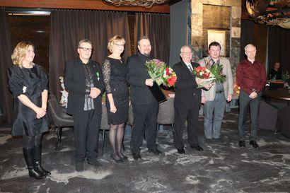 Pohjois-Pohjanmaan Yrittäjiltä kunniamaininta Pudasjärven Yrittäjille erinomaisesta toiminnasta
