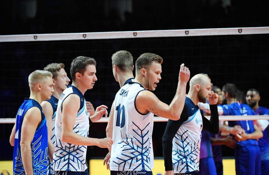 Ranska päihitti Suomen EM-neljännesvälierässä lukemin 3–0.