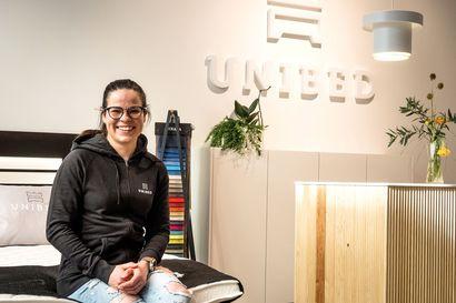 Krista Pärmäkoski valitsi Unibedin – unella on iso rooli huippu-urheilijan elämässä