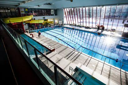 Uimahalli Vesihiiden remontti jatkuu huhtikuussa – tämän vuoden korjaustöihin varattu liki miljoona euroa