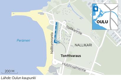 Oulun Nallikariin tavoitellaan miljoonien investointia – lomakylän aluetta halutaan täydentää rakentamalla uutta liike- ja majoitustilaa