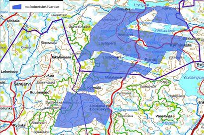 Uusi aluevaraus malminetsintään Syötteelle – ulottuu myös kansallispuiston alueelle