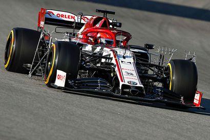 Alfa Romeon reservi Kubica nopein F1-testipäivänä – Bottas urakoi, Räikkösellä vaisumpaa