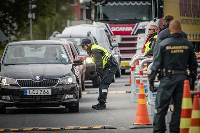 Länsirajan liikenne vilkastui viime viikolla, kun rajayhteisöjen ylitykset sallittiin