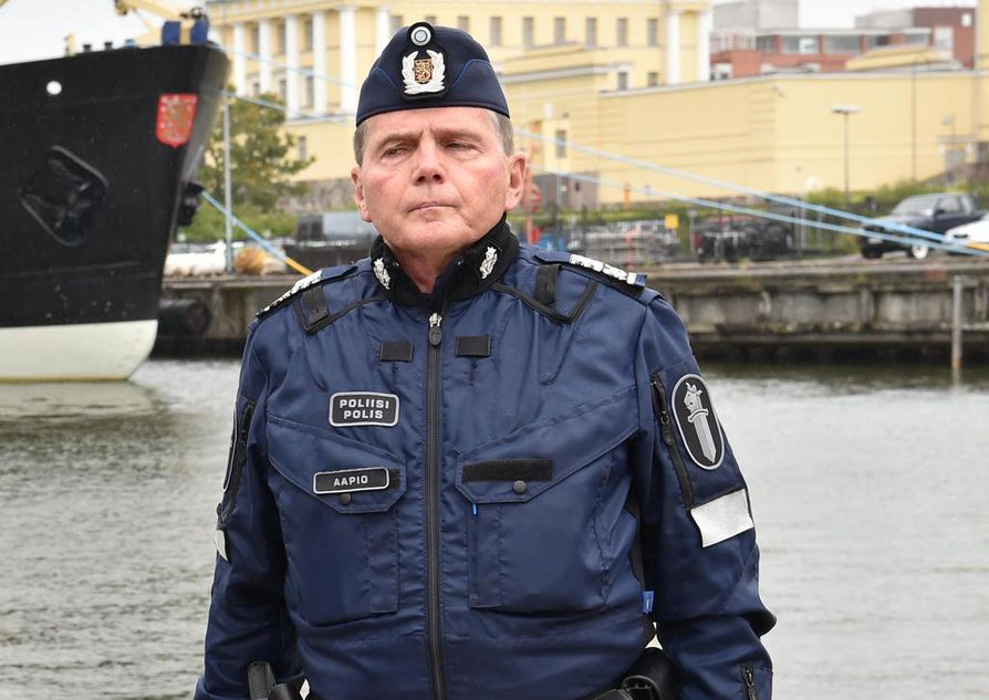 Lasse Aapio on toiminut Helsingin poliisilaitoksen päällikkönä vuodesta 2014 lähtien.