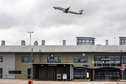 Sveitsiläisen matkanjärjestäjä Kontikin lennot Zürichistä Kittilään avasivat koronan jälkeiset tilauslennot Lappiin