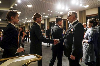 Rovaniemen nuorten itsenäisyyspäivän juhlavuorossa ovat 2004 syntyneet