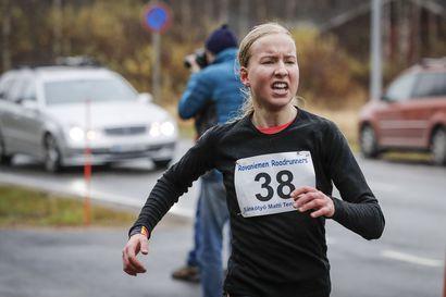 Johanna Peiponen Kaarlon juoksuun Maaninkavaaraan