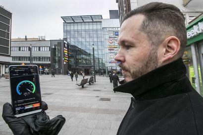 Elisan 5G-verkko kattaa alkuvaiheessa Raahen keskustan, mutta yltää myös muille alueille